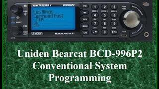 BCD996P2 Programming sites and systems Videos & Books