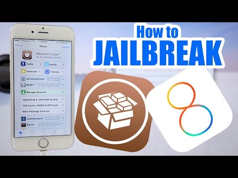 How To Jailbreak iPhone 6 iOS 8.1 /8.0.2 / iPhone 5S, 5C, 5, 4S, 4, iPad, Air, Mini, iPod Touch
