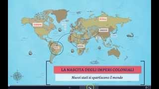 La nascita degli imperi coloniali