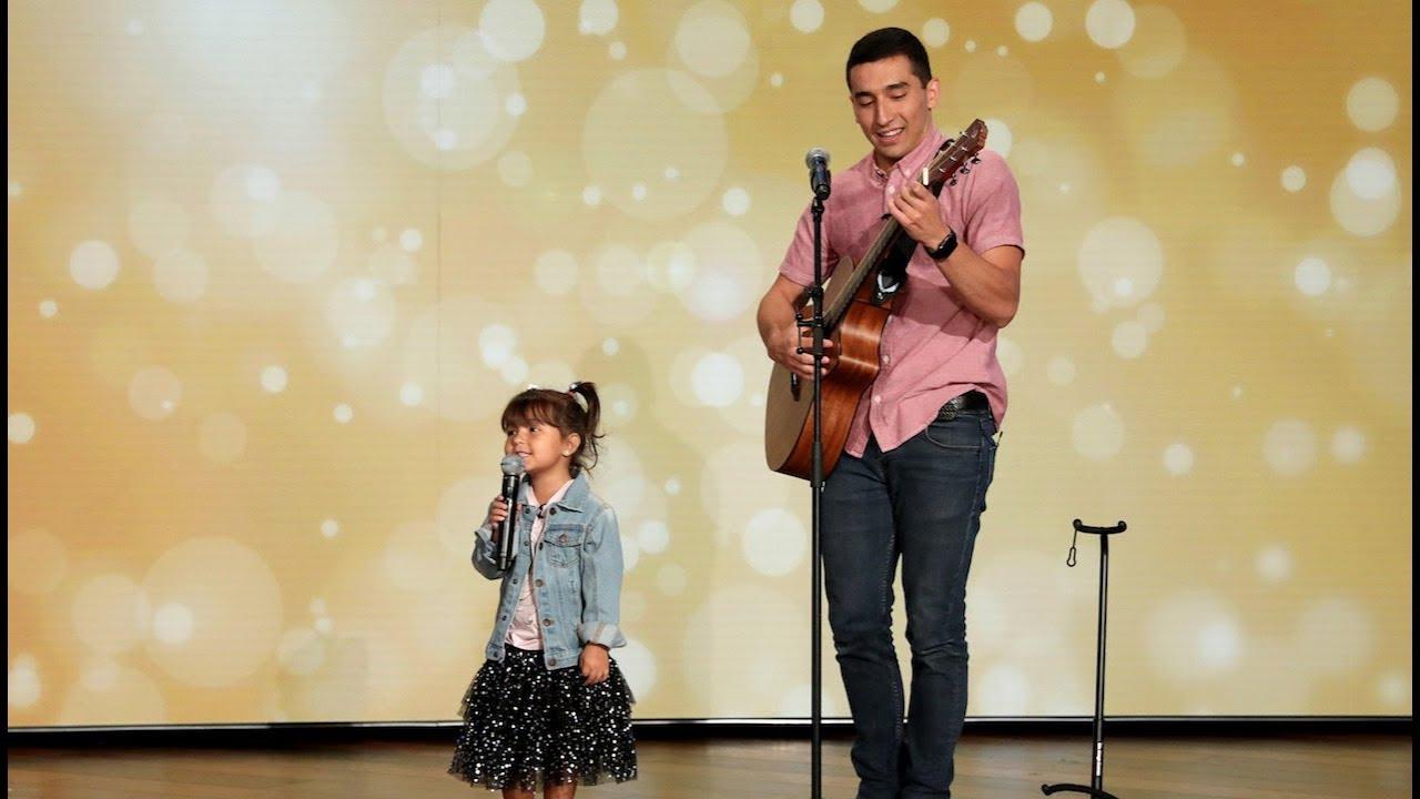 Adorable Father-Daughter Duo Sings 'Señorita'