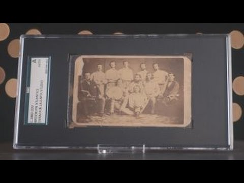 Preview of Oldest Baseball Card
