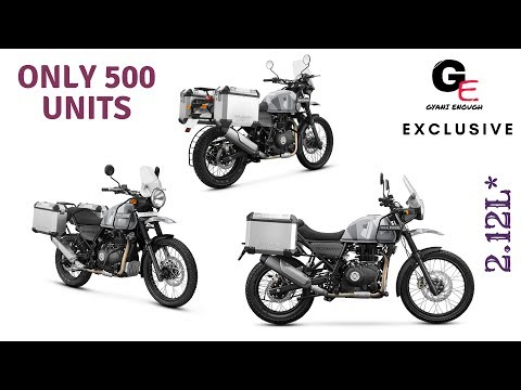 royal enfield himalayan sleet edition 2018 launched | watch to see booking process & details !!!!!