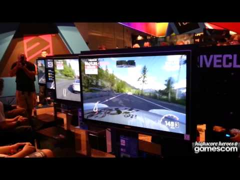 Gamescom 2013 Driveclub PS4 Gameplay [Off-Screen]