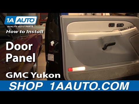 How To Install Replace Door Panel Chevy GMC Silverado Sierra Tahoe Yukon 99-02 1AAuto.com