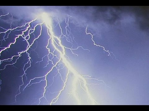 Ten children are struck by LIGHTNING at a birthday party in a Paris park