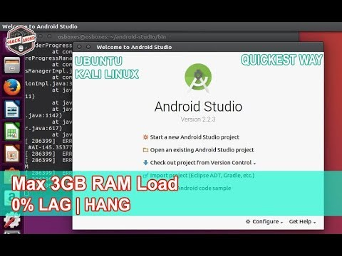 How To Install and Configure Android Studio In Ubuntu | Kali Linux