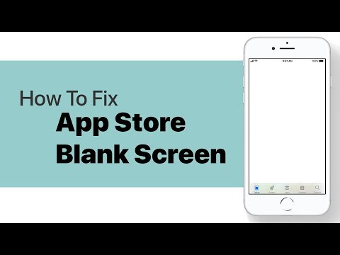 How to Fix Blank Screen on App Store