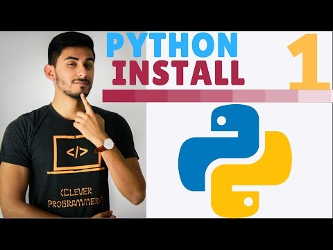 Learn Python Programming - 1 - How to Download and Install Python in 2 Minutes