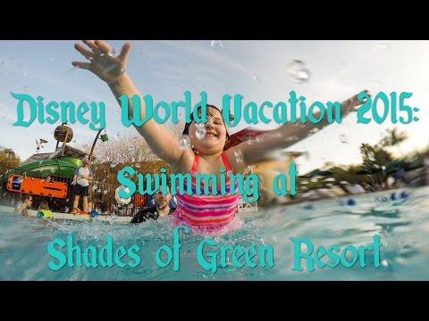 DisneyVacation: Swimming at Shades of Green