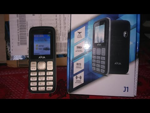 Aqua j1 BEST SIMPLE PHONE ONLY 699 (India) || Simple mobile in India only 699 |
