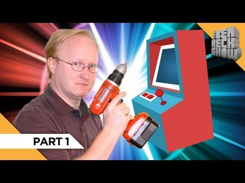 How to Build an Old School Arcade Machine (Part 1)