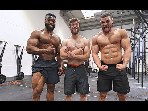 THE BIGGEST & MOST AESTHETIC Crossfit Squad!! Ft Team Richey & Zack George