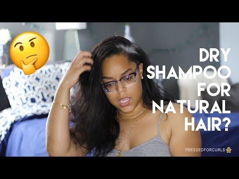 DRY SHAMPOO ON NATURAL HAIR | DEMO & REVIEW