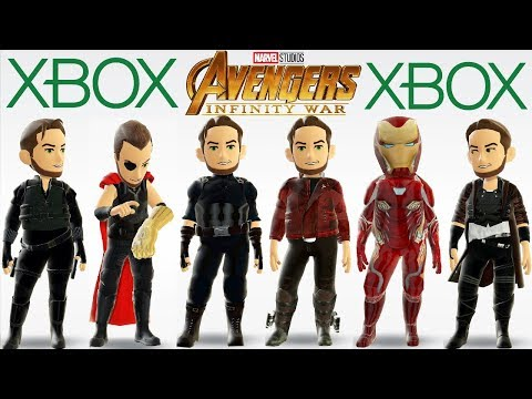 Avengers Infinity War FREE Xbox Avatar Items Available NOW! Captain America, Iron Man, Thor + More!