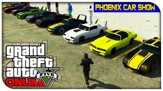 GTA 5 Online - Imponte Ruiner VS Phoenix  Muscle Car Battle :)