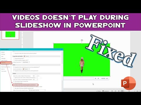 Embedded Videos Doesn't Play in PowerPoint | PowerPoint 2016 Tutorial | The Teacher