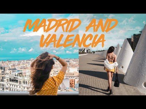 MADRID AND VALENCIA VLOG   SPAIN SERIES