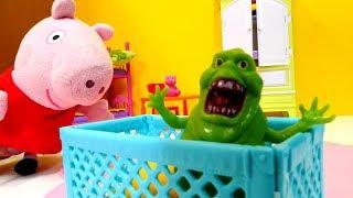 Download Пеппа игрушки — Мультики для детей — Пеппа и пришелец — Часть 2 Video