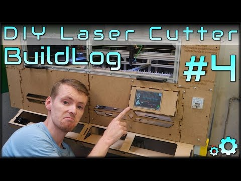 DIY Laser Cutter Buildlog - Part4 - Waterloop Test, Electronics Cleanup, Safety and Extra