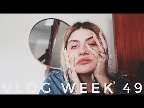 VLOG WEEK 49 - BUSY, HAPPY & HUNGOVER | JAMIE GENEVIEVE