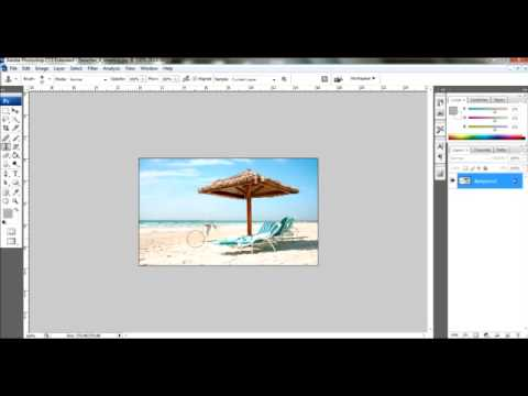 Photoshop Tutorial - How to remove people off a picture.