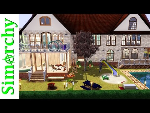 The Sims 3 House Tour - Large 2 Story Suburban Family Home - Pets Only Expansion Pack