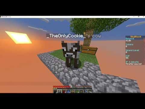 #BADBETSY #GhostBetsy | Minecraft Skyblock Episode One!
