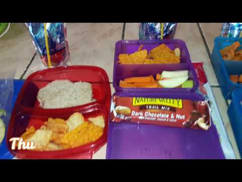 Simple Back To School Kids Lunch Ideas