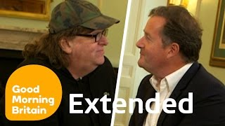 Michael Moore On Guns, Trump And The EU With Piers Morgan - Full Interview | Good Morning Britain