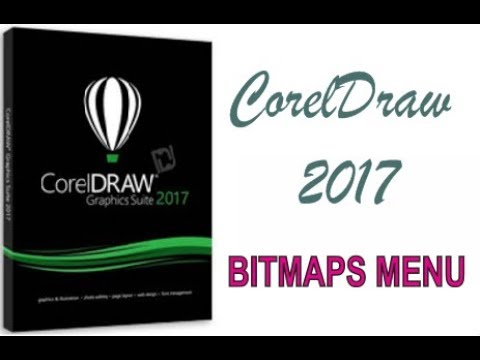 COREL DRAW 2017 USING BITMAPS MENU HINDI URDU PART 48