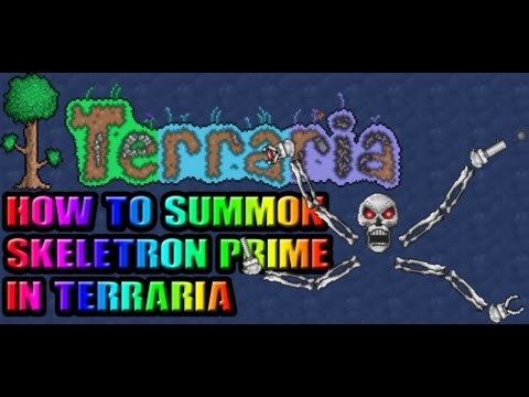 Terraria | How to summon Skeletron Prime