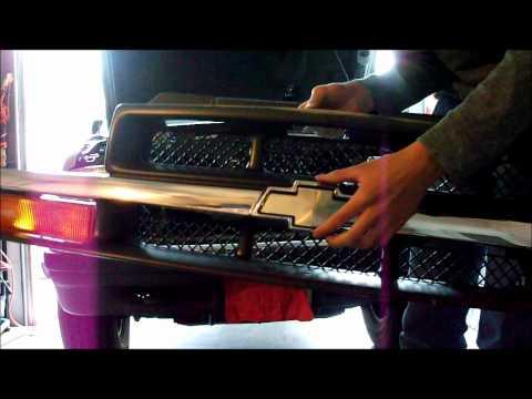 S10 Blazer Bowtie Install