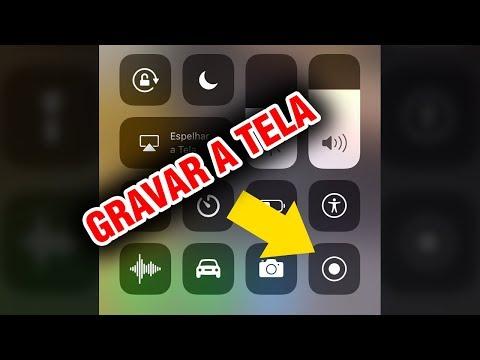 Como gravar a tela do iPhone com iOS 11 - direto no dispositivo