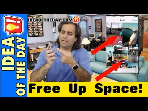How to Free Up Space on Your iPhone Without Deleting Photos and Videos. Idea of the day #165