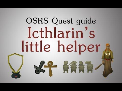 [OSRS] Icthlarin's little helper quest guide