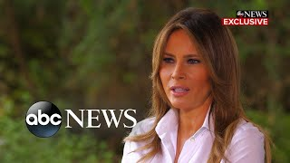 Melania Trump says she