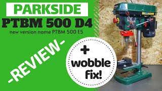 Drill Press Lidl Parkside Wobble Fix Ep 4 Review