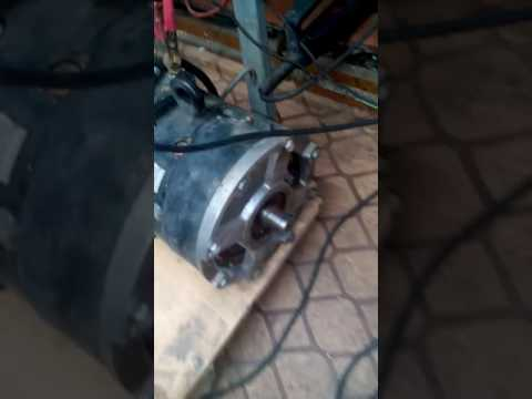 EV motor and homemade controller