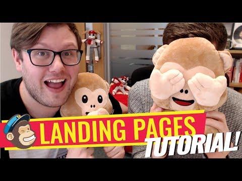 Mailchimp Landing Pages Tutorial 📧 🐒 (FREE)