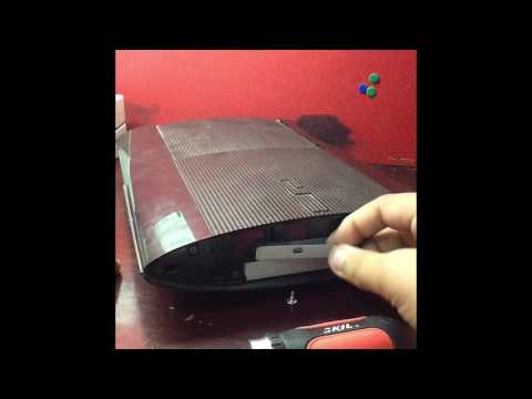 How to upgrade your PS3 Super slim's Hard Drive?Easy!!!