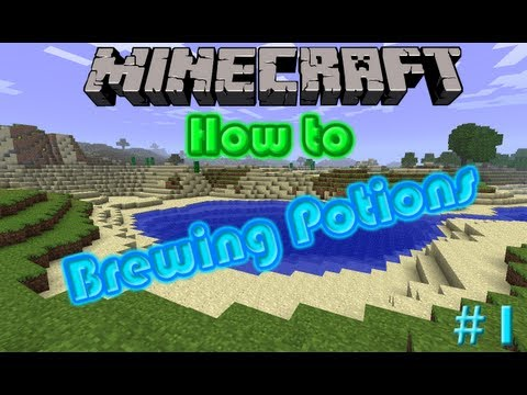 Minecraft: Potions: How to make: Regeneration, Fire Resist, Night Vision. 1.6.2