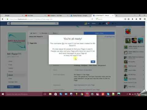 FB URL Customization