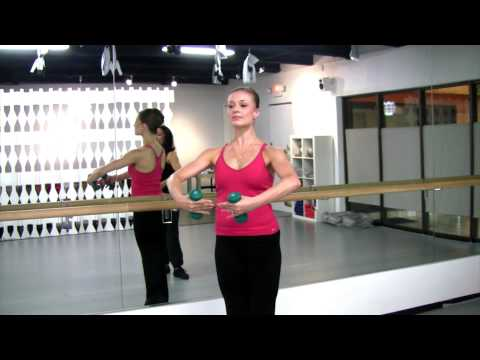Getting Ballerina Arms with Ballet Fitness