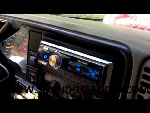 CHEVY EXT. CAB SPEAKER BOX 1988-1998 BY WWW.SOUNDOFFAUDIO.COM