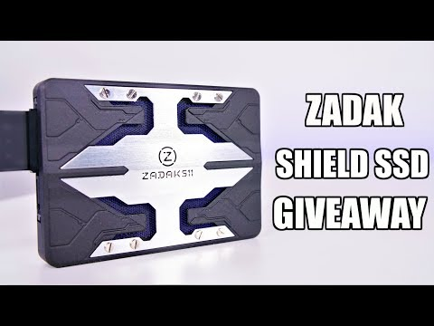 ZADAK SHIELD RGB 120GB SSD GIVEAWAY!