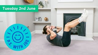 PE With Joe | Tuesday 2nd June