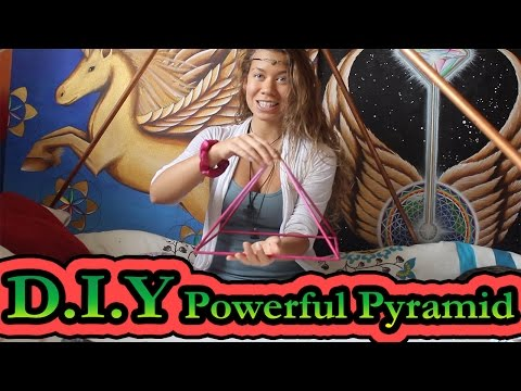 How to Make a Powerful Pyramid.. Use it and its benefits.. DIY | Francesca Love Artist 💜