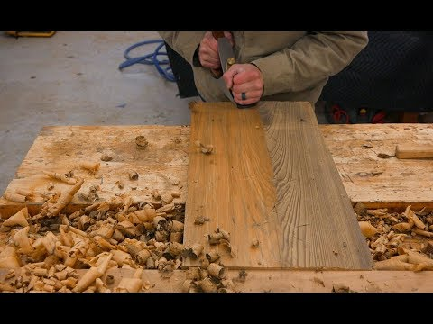 Hand Tools Only: Making A Cutting Board Using Reclaimed Cypress