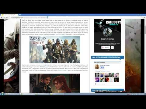 How to install Assassins Creed Unity by Ocean of games #2