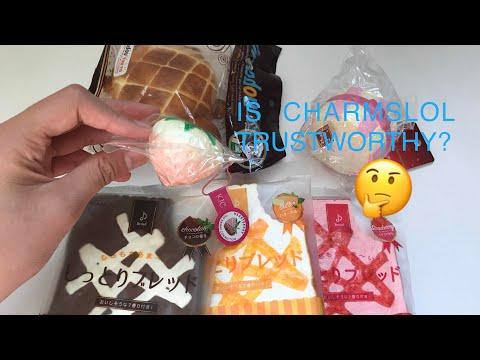 OMG KIC HEARTBERRY SQUISHY!? Charmslol Package